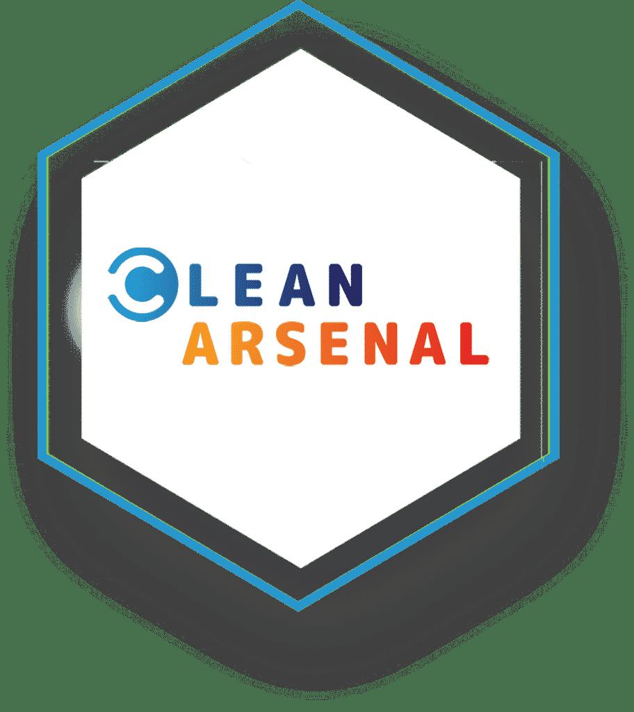 Clean Arsenal logo